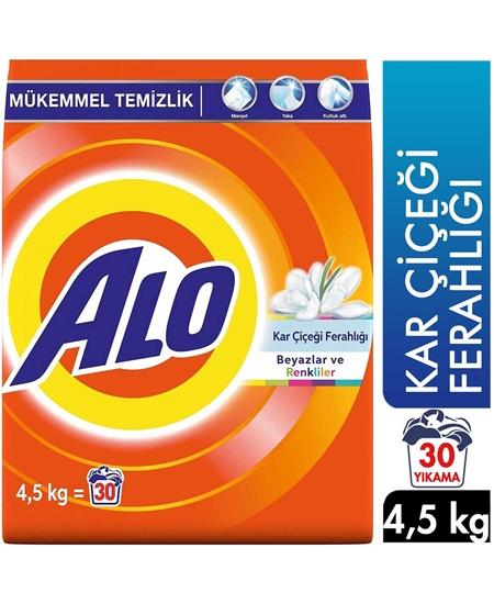 Picture of Alo Toz Çamaşır Deterjanı 30 Yıkama 4,5 kg Kar Çiçeği Ferahlığı