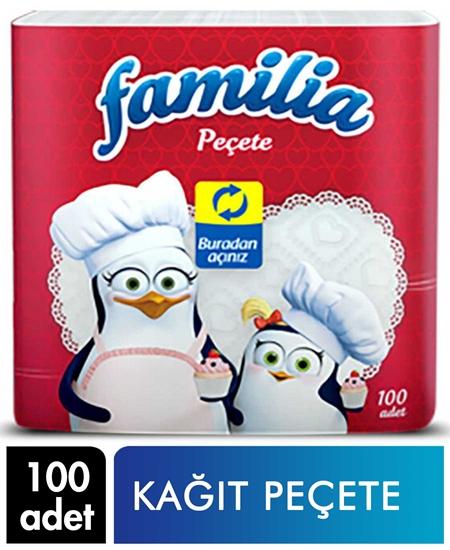 Picture of Familia Kağıt Peçete 100'lü