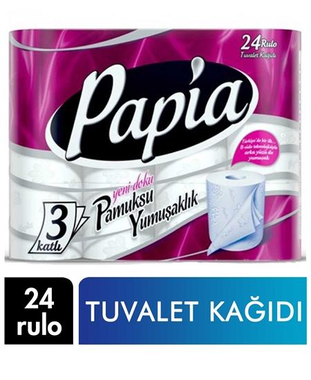 Picture of Papia Tuvalet Kağıdı 24 Rulo