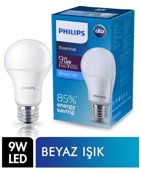 Picture of Philips Led Ampul 9W Beyaz Işık