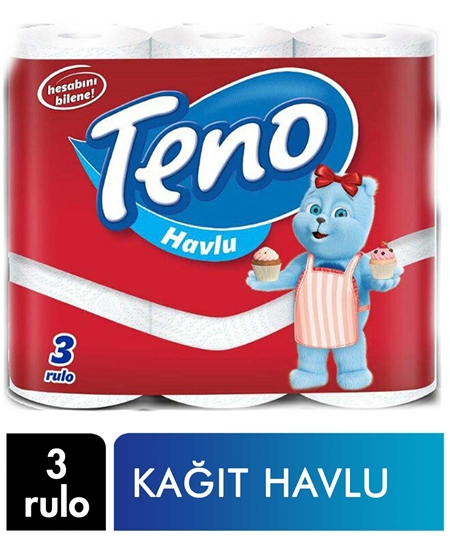 Picture of Teno Kağıt Havlu 3 Rulo