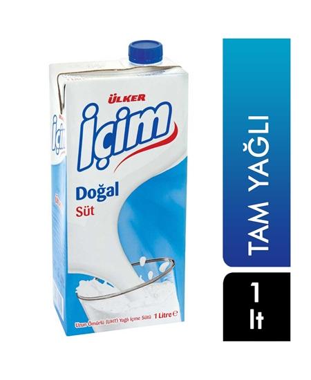Picture of Ülker İçim Süt 1 lt Tam Yağlı