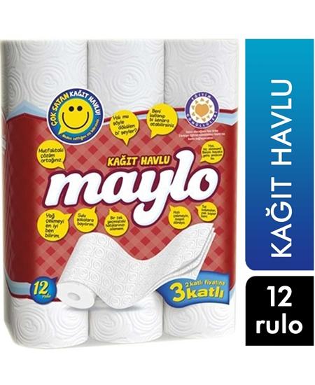 Picture of Maylo Kağıt Havlu 12 Rulo
