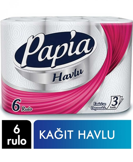 Picture of Papia Kağıt Havlu 6 Rulo