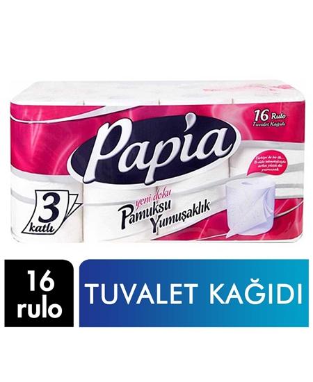 Picture of Papia Tuvalet Kağıdı 16 Rulo