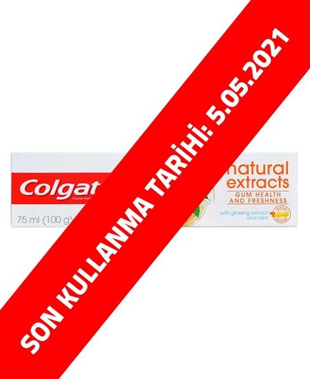 Picture of Colgate Diş Macunu Natural Extracts 75 ml Diş Eti Sağlığı ve Ferahlık [OUTLET]